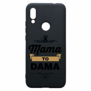 Phone case for Xiaomi Redmi 7 Mother to the lady