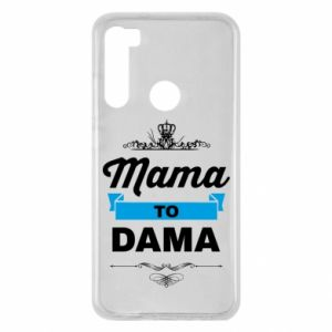 Xiaomi Redmi Note 8 Case Mother to the lady