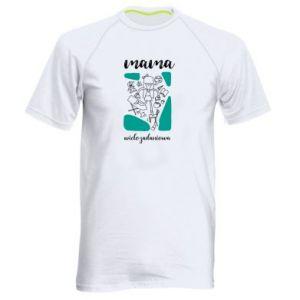 Męska koszulka sportowa Mama wielozadaniowa