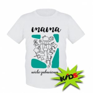 Kids T-shirt Multi-tasking mom