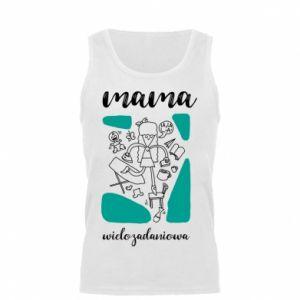 Męska koszulka Mama wielozadaniowa