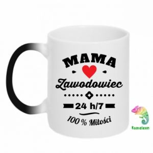 Chameleon mugs Mom is a Pro