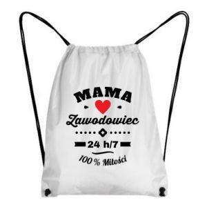Plecak-worek Mama zawodowiec