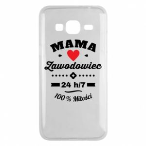 Samsung J3 2016 Case Mom is a Pro