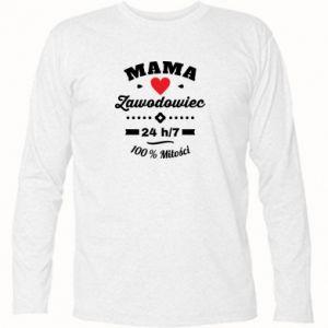 Koszulka z długim rękawem Mama zawodowiec