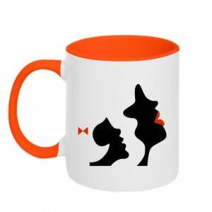 Two-toned mug Mother