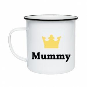 Enameled mug Mummy