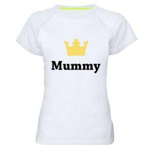 Women's sports t-shirt Mummy