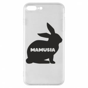 Etui na iPhone 7 Plus Mamusia - królik