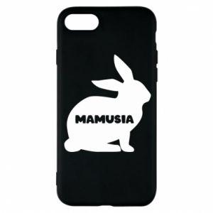 Etui na iPhone 8 Mamusia - królik