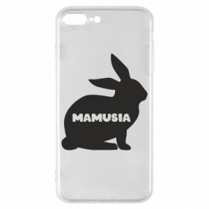 Etui na iPhone 8 Plus Mamusia - królik
