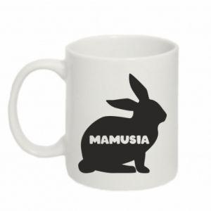 Kubek 330ml Mamusia - królik