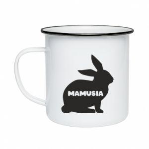 Kubek emaliowane Mamusia - królik