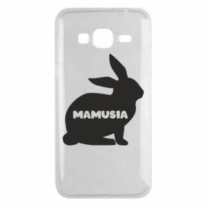 Etui na Samsung J3 2016 Mamusia - królik