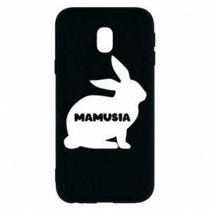 Etui na Samsung J3 2017 Mamusia - królik