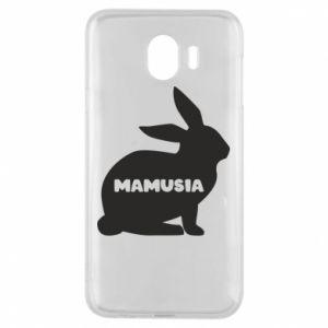 Etui na Samsung J4 Mamusia - królik
