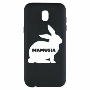 Etui na Samsung J5 2017 Mamusia - królik