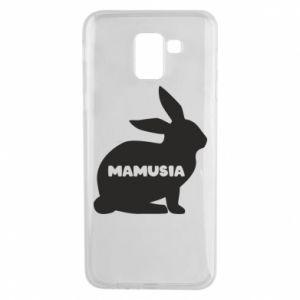 Etui na Samsung J6 Mamusia - królik