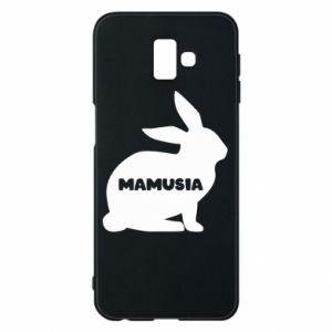 Etui na Samsung J6 Plus 2018 Mamusia - królik
