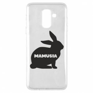 Etui na Samsung A6+ 2018 Mamusia - królik