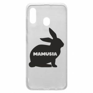 Etui na Samsung A20 Mamusia - królik