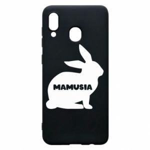Etui na Samsung A30 Mamusia - królik