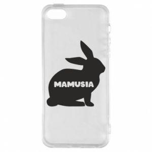 Etui na iPhone 5/5S/SE Mamusia - królik