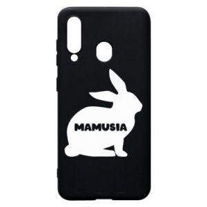 Etui na Samsung A60 Mamusia - królik