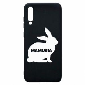 Etui na Samsung A70 Mamusia - królik