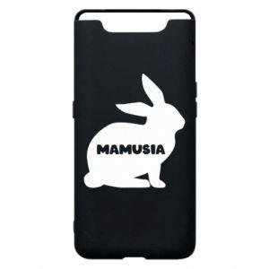 Etui na Samsung A80 Mamusia - królik