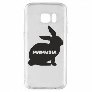 Etui na Samsung S7 Mamusia - królik