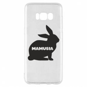 Etui na Samsung S8 Mamusia - królik