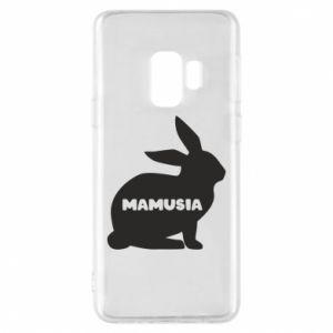 Etui na Samsung S9 Mamusia - królik