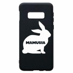 Etui na Samsung S10e Mamusia - królik