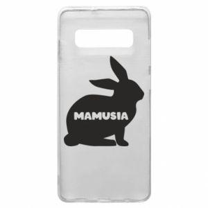 Etui na Samsung S10+ Mamusia - królik