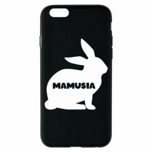 Etui na iPhone 6/6S Mamusia - królik