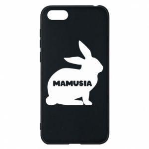 Etui na Huawei Y5 2018 Mamusia - królik