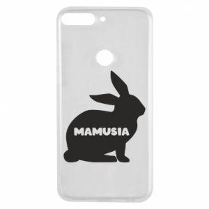 Etui na Huawei Y7 Prime 2018 Mamusia - królik