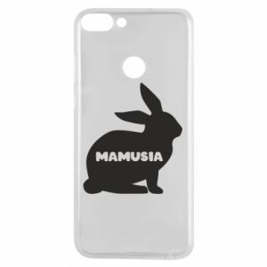Etui na Huawei P Smart Mamusia - królik