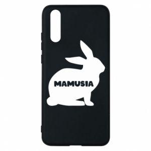 Etui na Huawei P20 Mamusia - królik