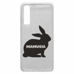 Etui na Huawei P30 Mamusia - królik