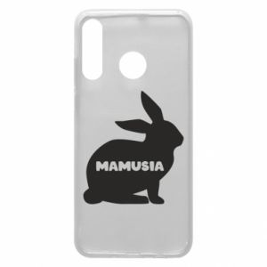 Etui na Huawei P30 Lite Mamusia - królik