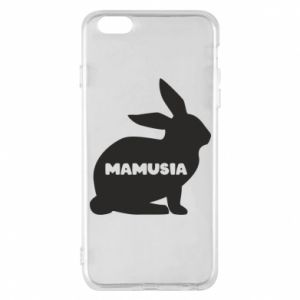 Etui na iPhone 6 Plus/6S Plus Mamusia - królik