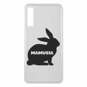 Etui na Samsung A7 2018 Mamusia - królik