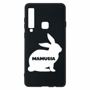 Etui na Samsung A9 2018 Mamusia - królik