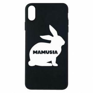 Etui na iPhone Xs Max Mamusia - królik