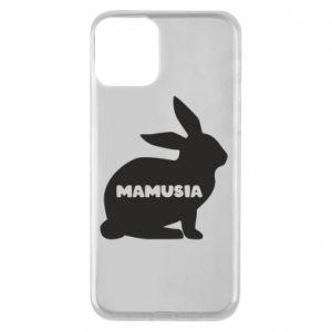 Etui na iPhone 11 Mamusia - królik