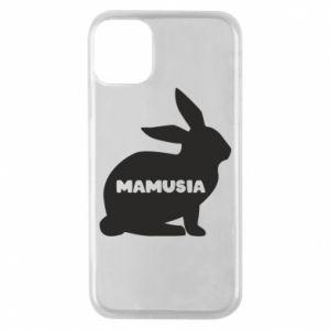 Etui na iPhone 11 Pro Mamusia - królik