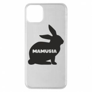 Etui na iPhone 11 Pro Max Mamusia - królik