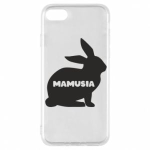 Etui na iPhone 7 Mamusia - królik